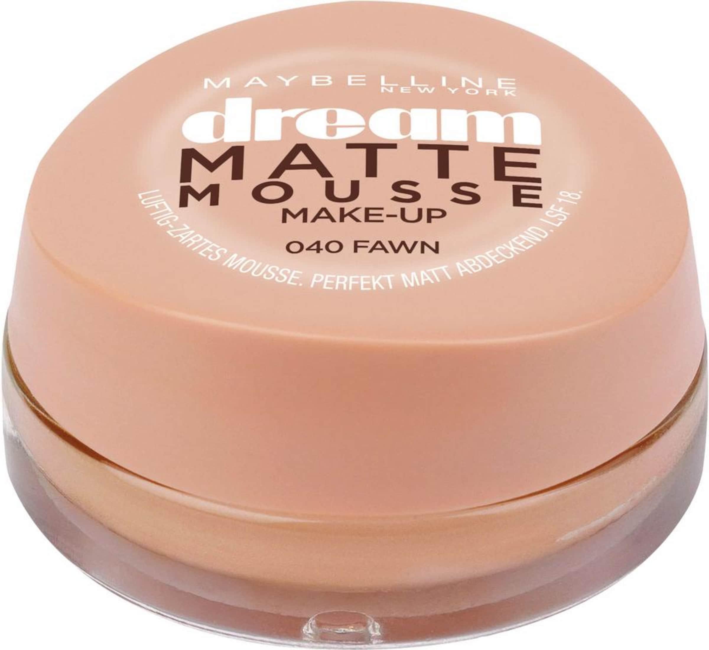 Mousse York up'Foundation 'dream Beige Maybelline Make Matte New In y7fgYb6v