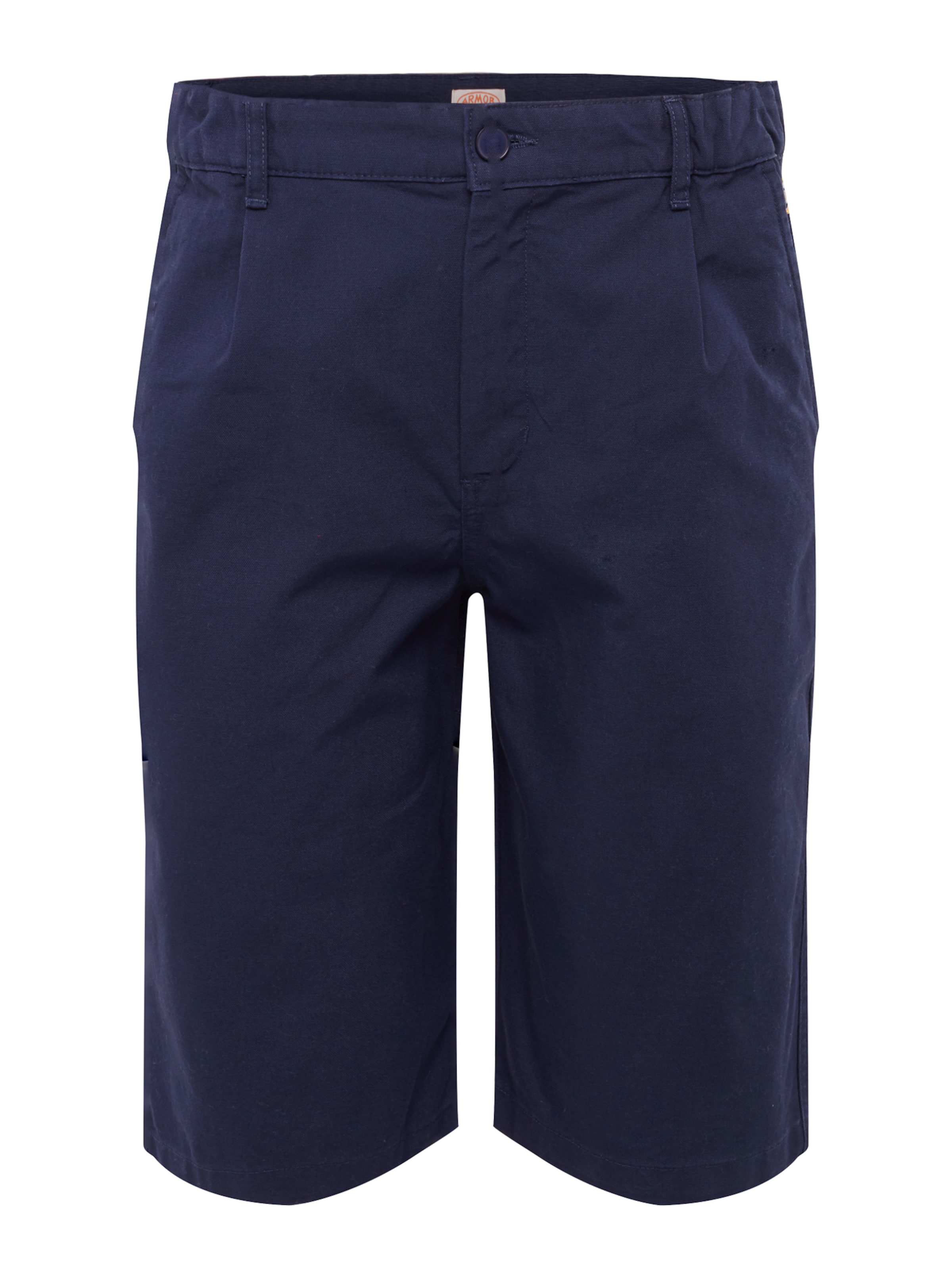 En À Lux Bleu Armor Pantalon Marine Pince 'bermuda' OXZPkTiu