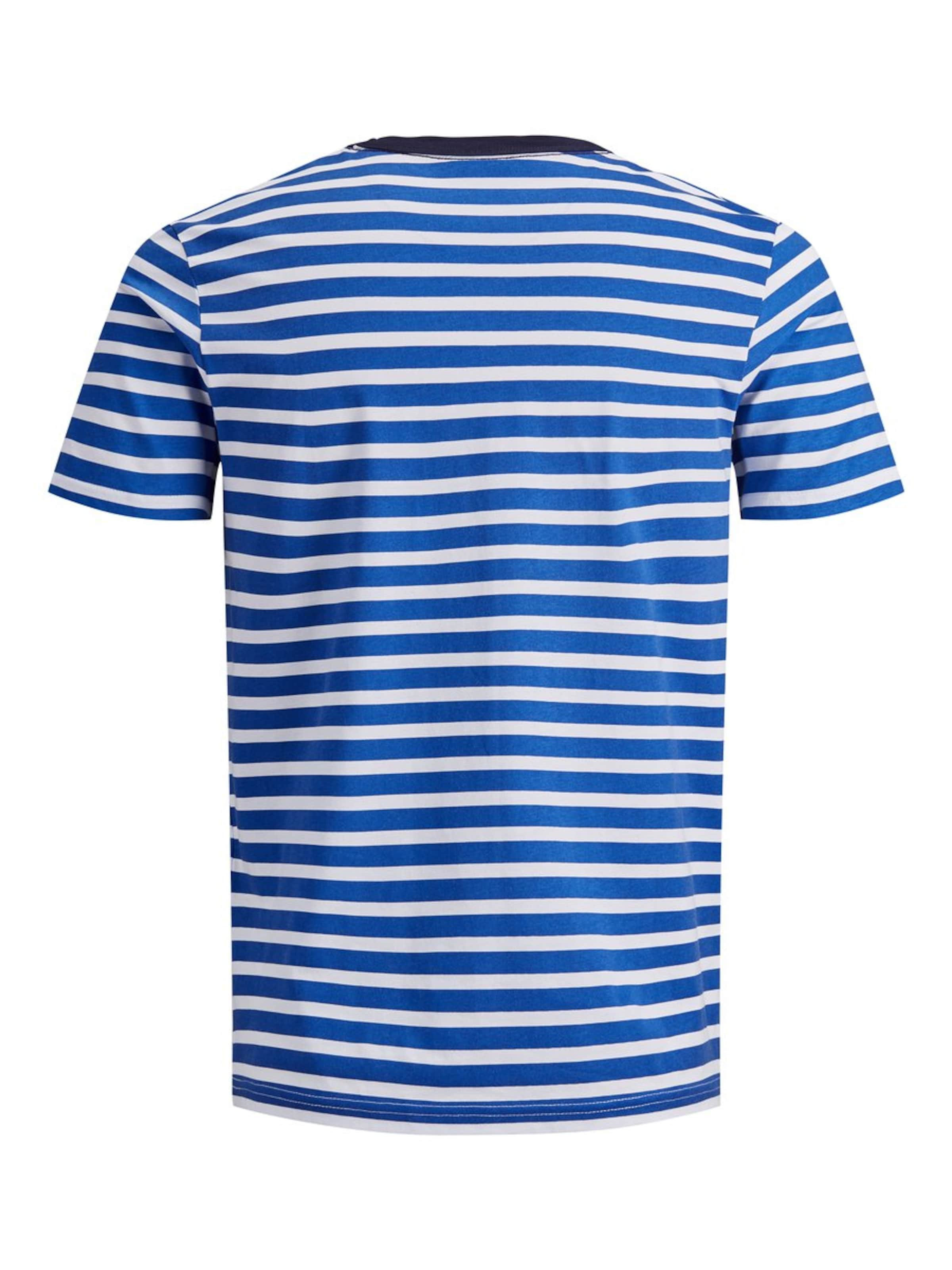 shirt BlauWeiß Jones Jackamp; In T uJ3TlF1cK