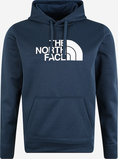 THE NORTH FACE Sport-Sweatshirt 'Men's Surgent' in dunkelblau / weiß, Produktansicht