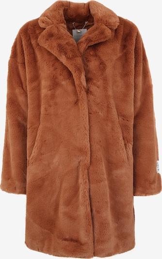 RINO & PELLE Fake-Fur-Mantel 'JOELA' in rostbraun, Produktansicht