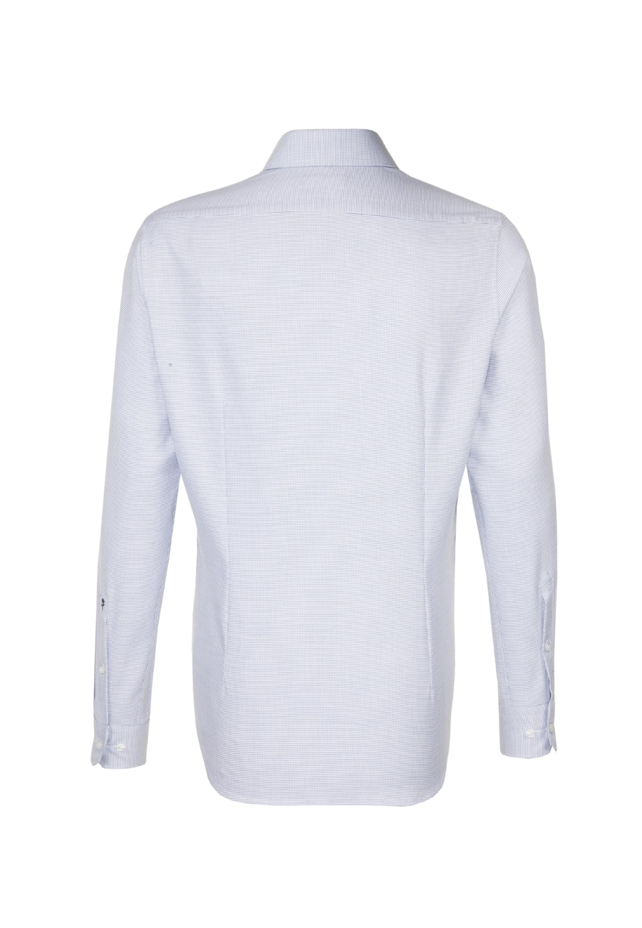 SEIDENSTICKER Hemd in marine   weiß weiß weiß  Markenkleidung für Männer und Frauen c2a31d