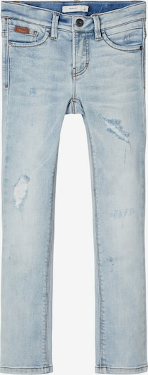 NAME IT Jeans in taubenblau, Produktansicht
