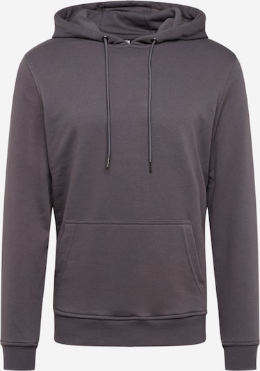 Urban Classics Sweatshirt 'Basic Terry Hoodie' in dunkelgrau, Produktansicht