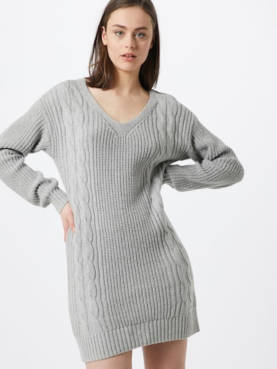 HOLLISTER Kleid in grau, Modelansicht