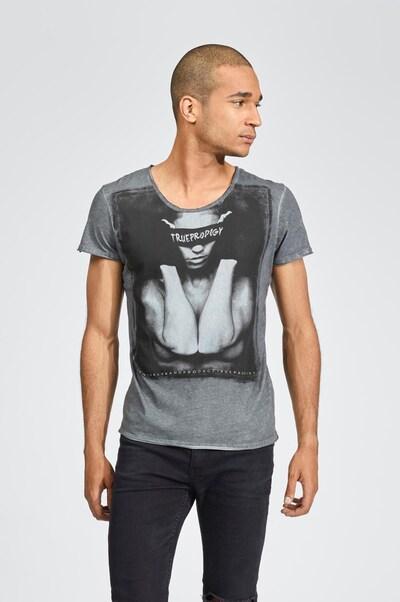 trueprodigy T-Shirt in grau, Produktansicht