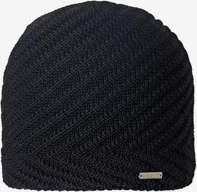 STÖHR Mütze 'Casta' in schwarz, Produktansicht