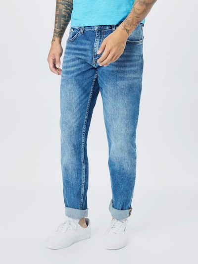 Q/S designed by Jeans in blue denim, Modelansicht