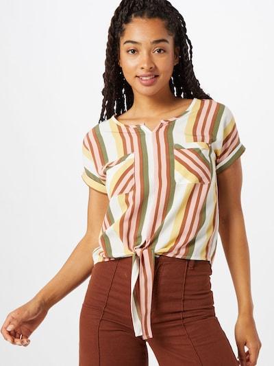 Hailys Koszulka 'Loretta' w kolorze brązowy / mieszane kolorym, Podgląd na modelu(-ce)