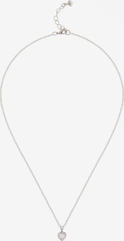 Lanțuri 'HANNELA: CRYSTAL HEART PENDANT' de la Ted Baker pe argintiu