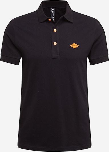 REPLAY Majica u crna: Prednji pogled
