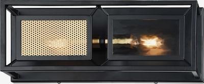 FAVOURITE Wandleuchte 'Dual' in hellgelb / schwarz, Produktansicht