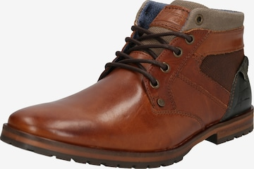 BULLBOXER Lace-up boot in Brown