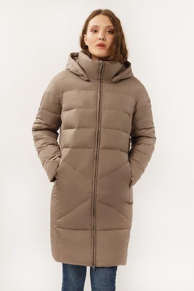 Finn Flare Wintermantel in braun, Produktansicht