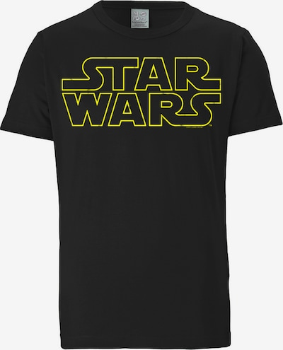 """LOGOSHIRT T-Shirt """"Krieg der Sterne"""" in gelb / schwarz, Produktansicht"""