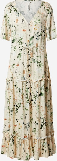 OBJECT Kleid in creme / mischfarben, Produktansicht