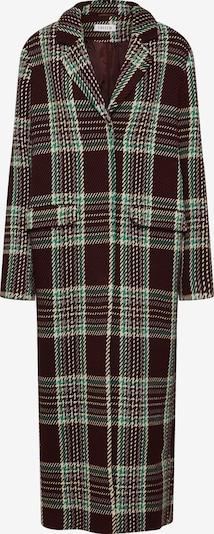 Rudeninis-žieminis paltas 'Frida' iš EDITED , spalva - kaštoninė spalva / žalia / mišrios spalvos / vyšninė spalva, Prekių apžvalga