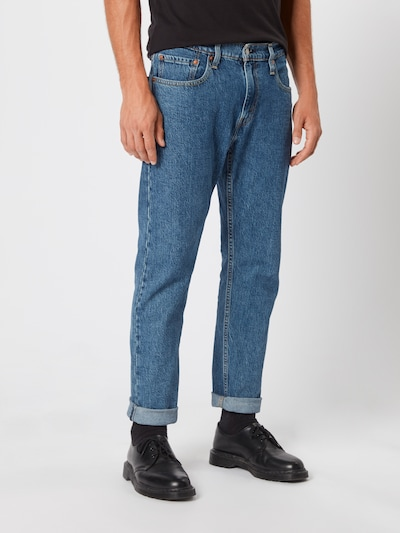 LEVI'S Jeans 'Hi-Ball Roll' in blue denim, Modelansicht