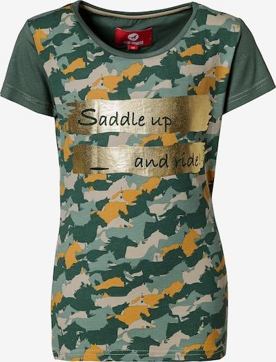 RED HORSE T-Shirt 'Nelly' in grün / mischfarben, Produktansicht