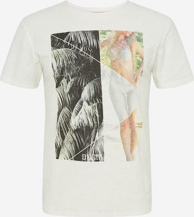 BLEND Tričko 'Tee' - zmiešané farby / čierna / šedobiela, Produkt