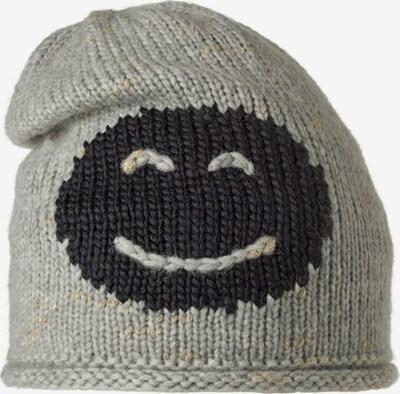 STÖHR Mütze 'SMILE' in grau, Produktansicht