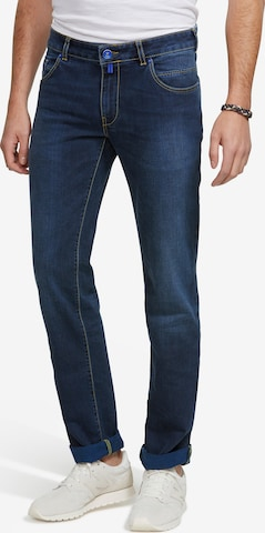 Meyer Hosen Jeans 'M5 SLIM' in Blau