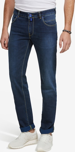 Meyer Hosen Jeans 'M5 SLIM' in blue denim / dunkelblau, Produktansicht