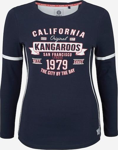 KangaROOS Langarmshirt in marine, Produktansicht