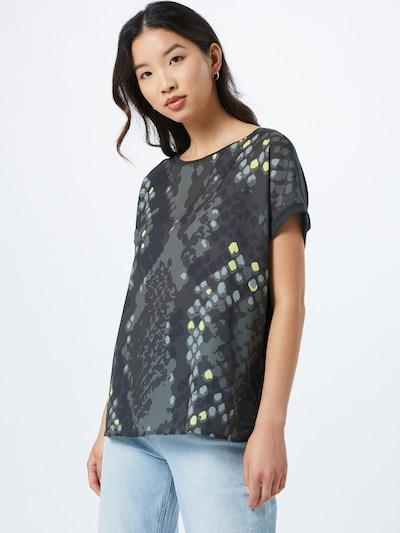 OPUS Koszulka 'Sanima' w kolorze oliwkowym: Widok z przodu