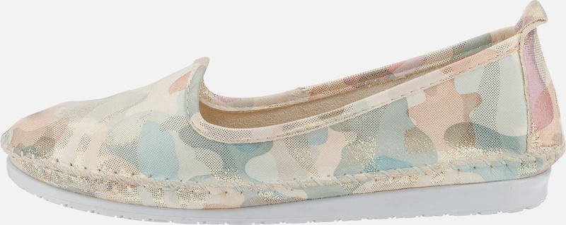 ANDREA CONTI Slipper mit Camouflage-Druck