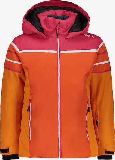 CMP Jacke in orange / dunkelorange / pink / weiß, Produktansicht
