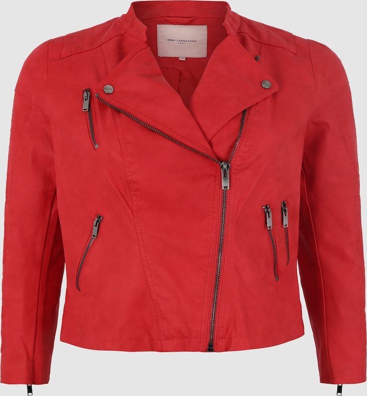 ONLY Carmakoma Jacke Jacke Jacke 'AVANA' in rot  Markenkleidung für Männer und Frauen 3e722d