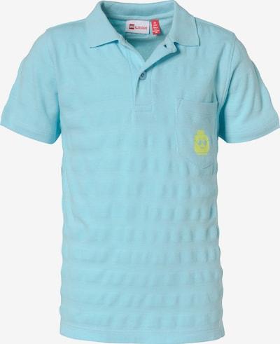 LEGO WEAR Poloshirt 'Ninjago' in hellblau / neonpink, Produktansicht