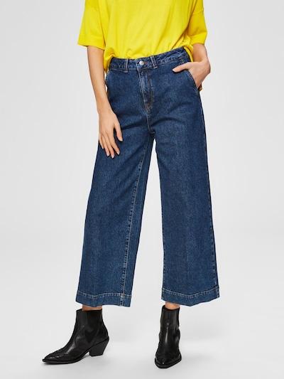 SELECTED FEMME Jeans in blue denim, Modelansicht
