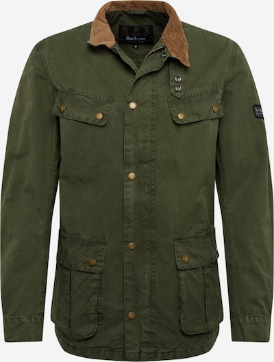 Barbour International Jacke in oliv, Produktansicht