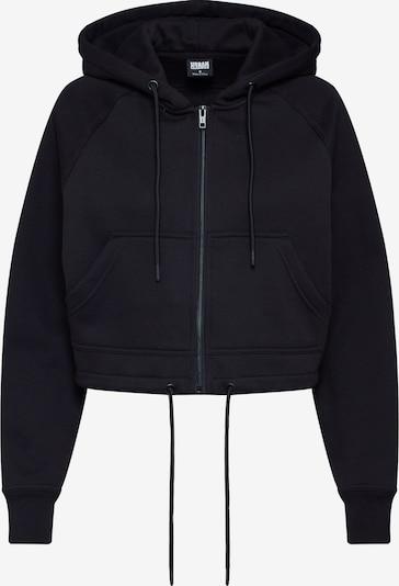 Urban Classics Sweat-shirt en noir, Vue avec produit