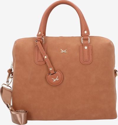 SANSIBAR Handtasche in cognac, Produktansicht