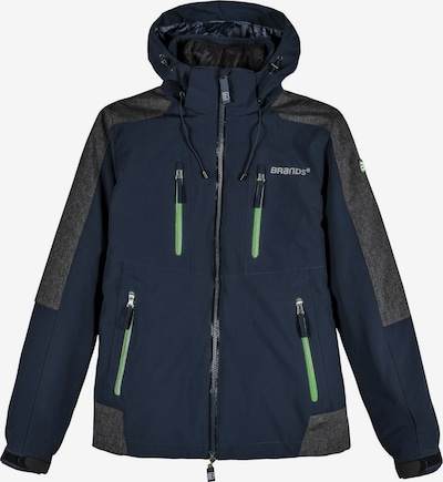 BRANDS WORKWEAR 2-in-1 Funktionsjacke in blau / navy, Produktansicht