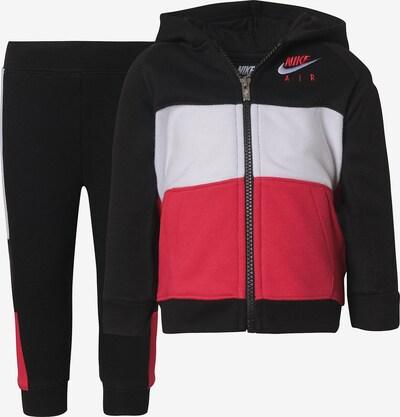 Nike Sportswear Set in hellrot / schwarz / weiß, Produktansicht