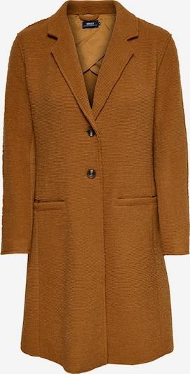 ONLY Manteau mi-saison en caramel, Vue avec produit