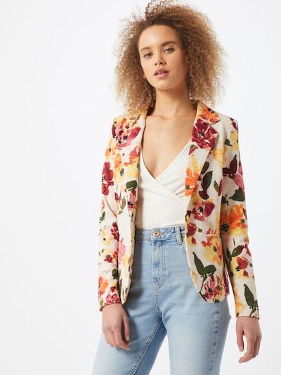 ICHI Blazer in beige / gelb / rot, Modelansicht