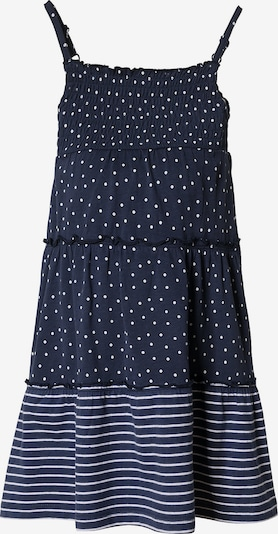 s.Oliver Junior Kleid in blau / weiß, Produktansicht