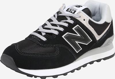 new balance Sneakers laag '574' in de kleur Crème / Zwart / Wit, Productweergave