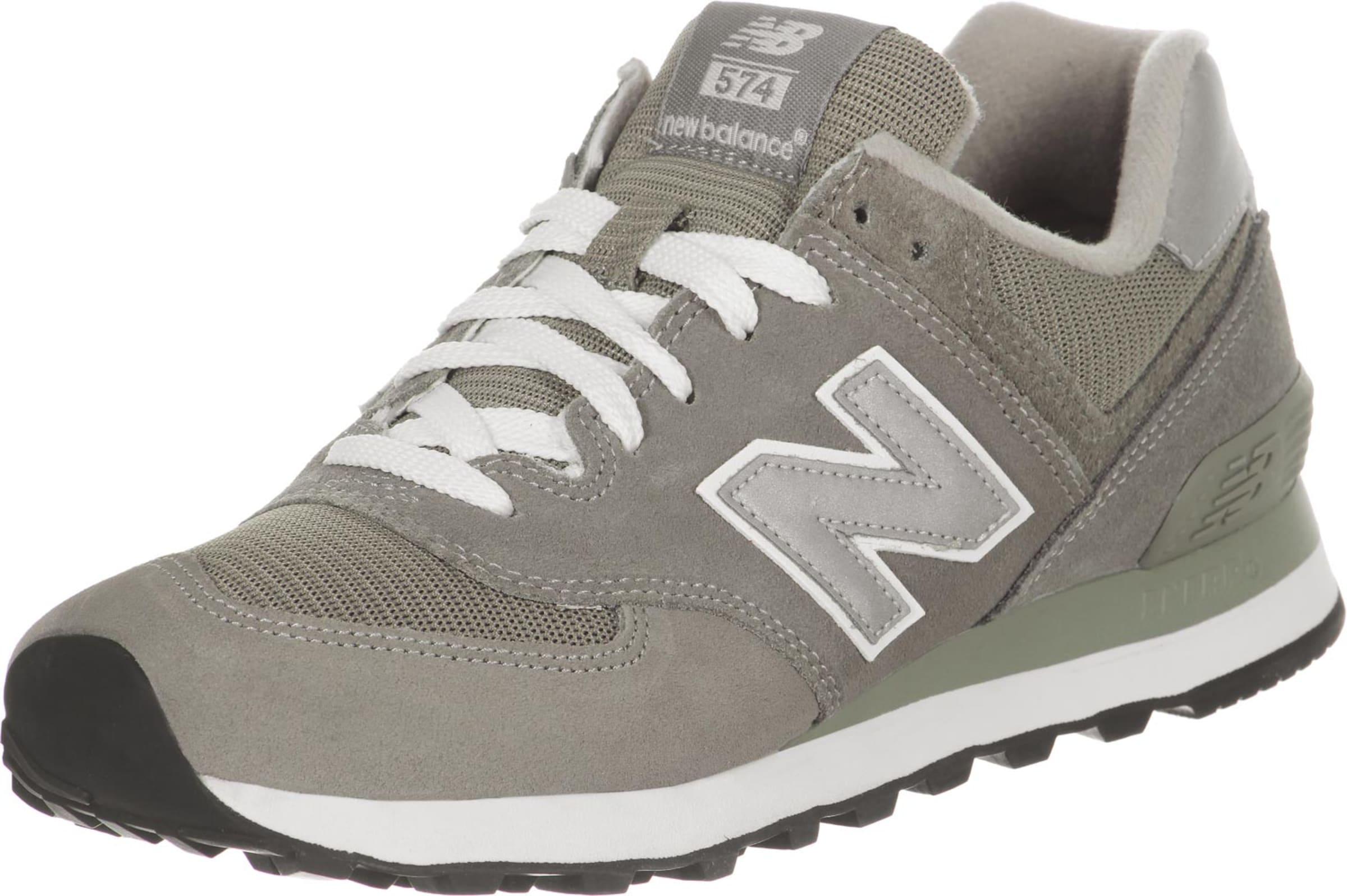 New Balance In Retro M574 Sneaker optik Grau BdrCxoe