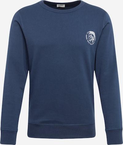DIESEL Sweatshirt in dunkelblau / grau, Produktansicht