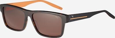 PUMA Sluneční brýle 'PU0267S-001 58 Sunglass MAN ACETATE' - tmavě hnědá / oranžová, Produkt