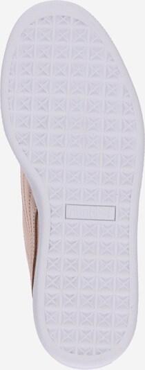 PUMA Sneaker 'Basket Heart Luxe' in rosegold / weiß: Ansicht von unten