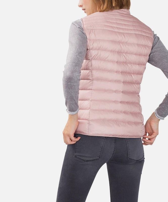 Esprit Down-vest In Quilted Optics