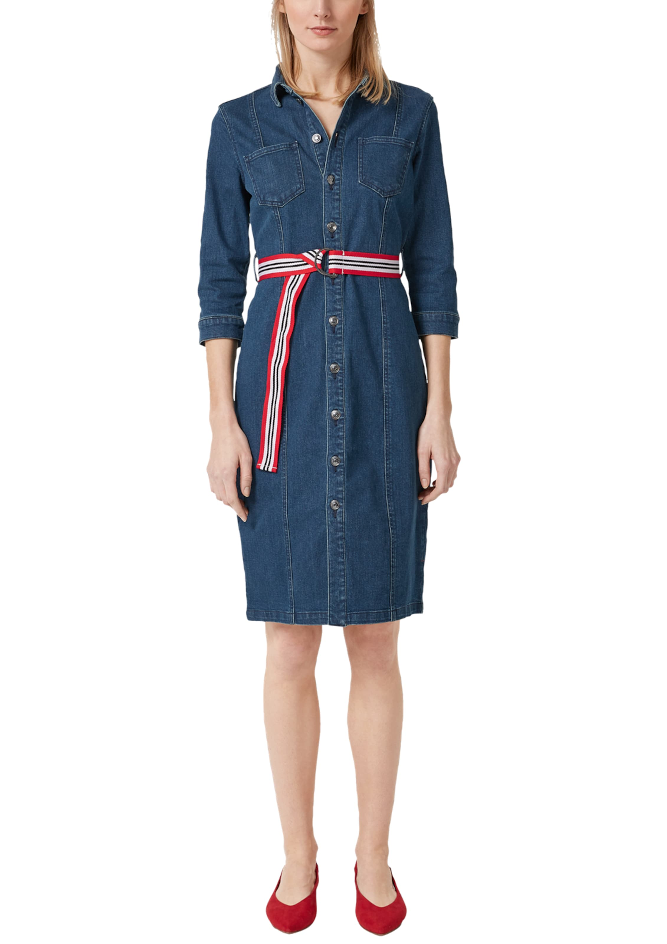 Red Kleid In S Denim Label Blue oliver wO8n0vmN