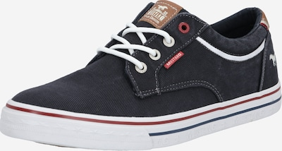 MUSTANG Schuhe in schwarz / weiß, Produktansicht